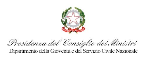 logo dipar gioventu servizio civile